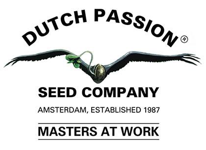 Het bedrijfslogo van Dutch Passion.