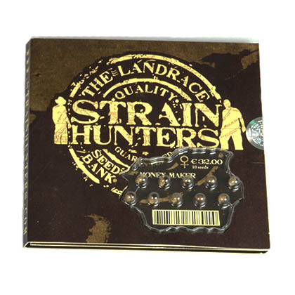 strain hunters verpakking