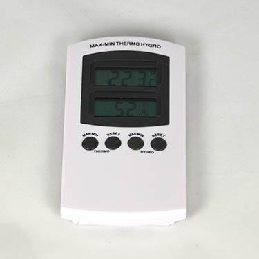 temperatuur en vochtigheid