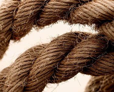 hennep vezels touw